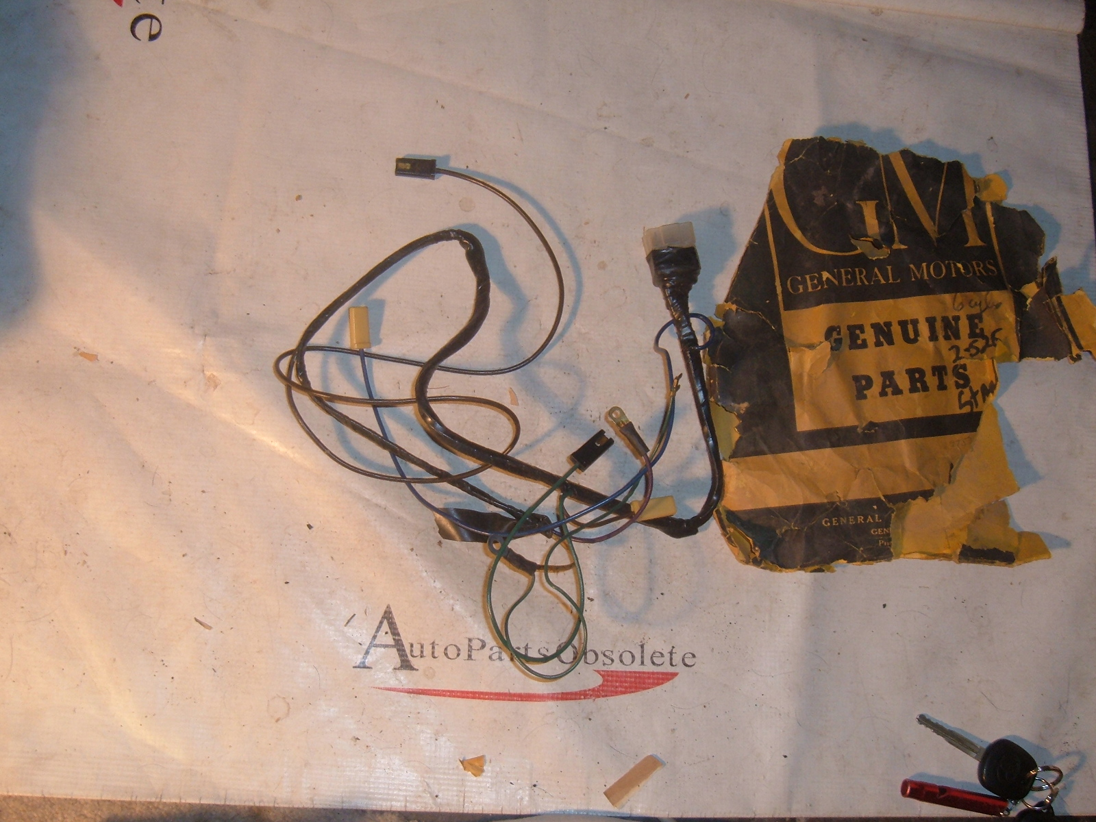 1959 60 Chevrolet Impala Engine Starting Wiring Harness Nos Gm 2974081 View Product1959 Z