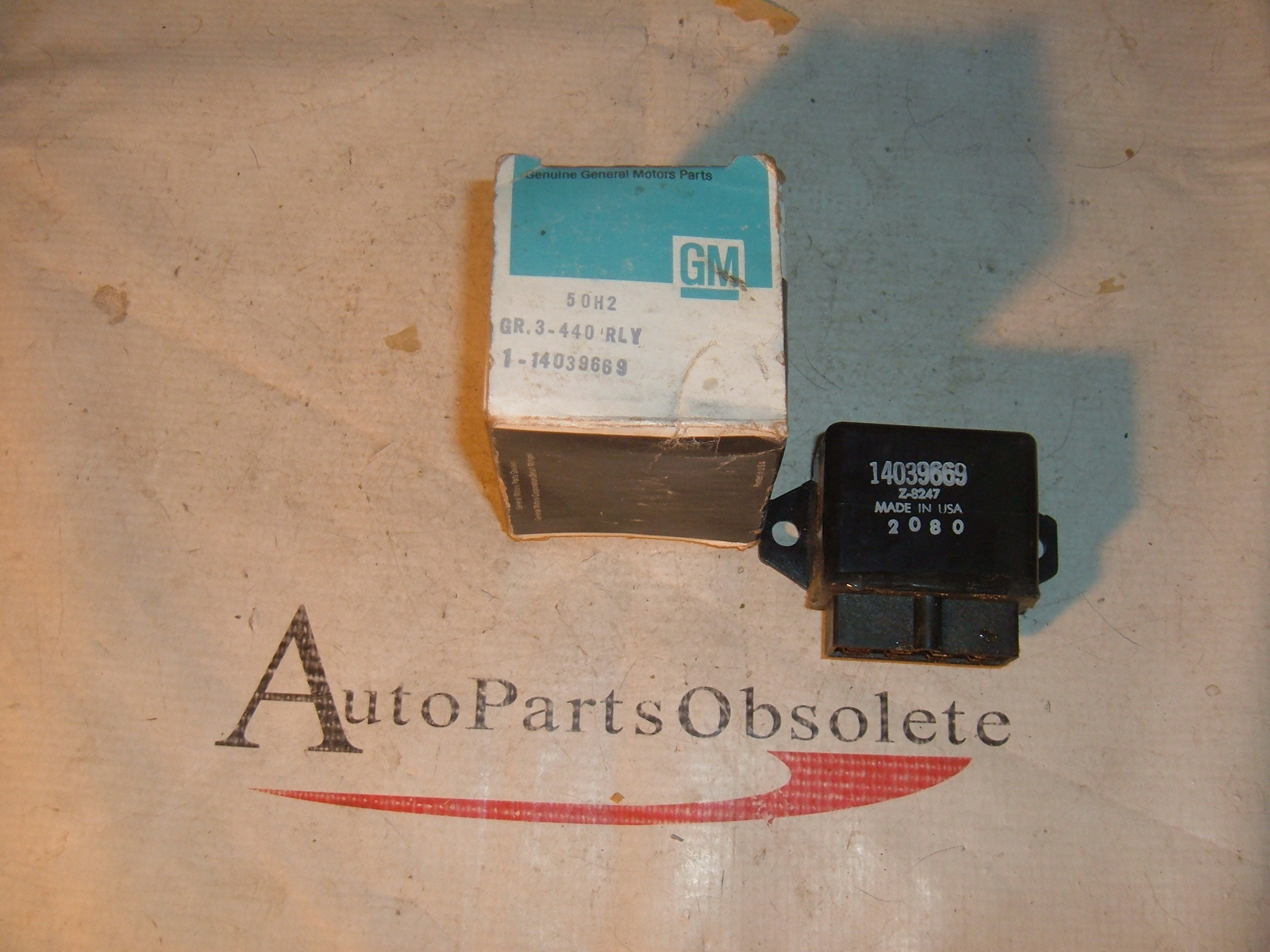 1982 83 84 85 86 gm fast idle relay nos gm 14039669 (z 14039669)
