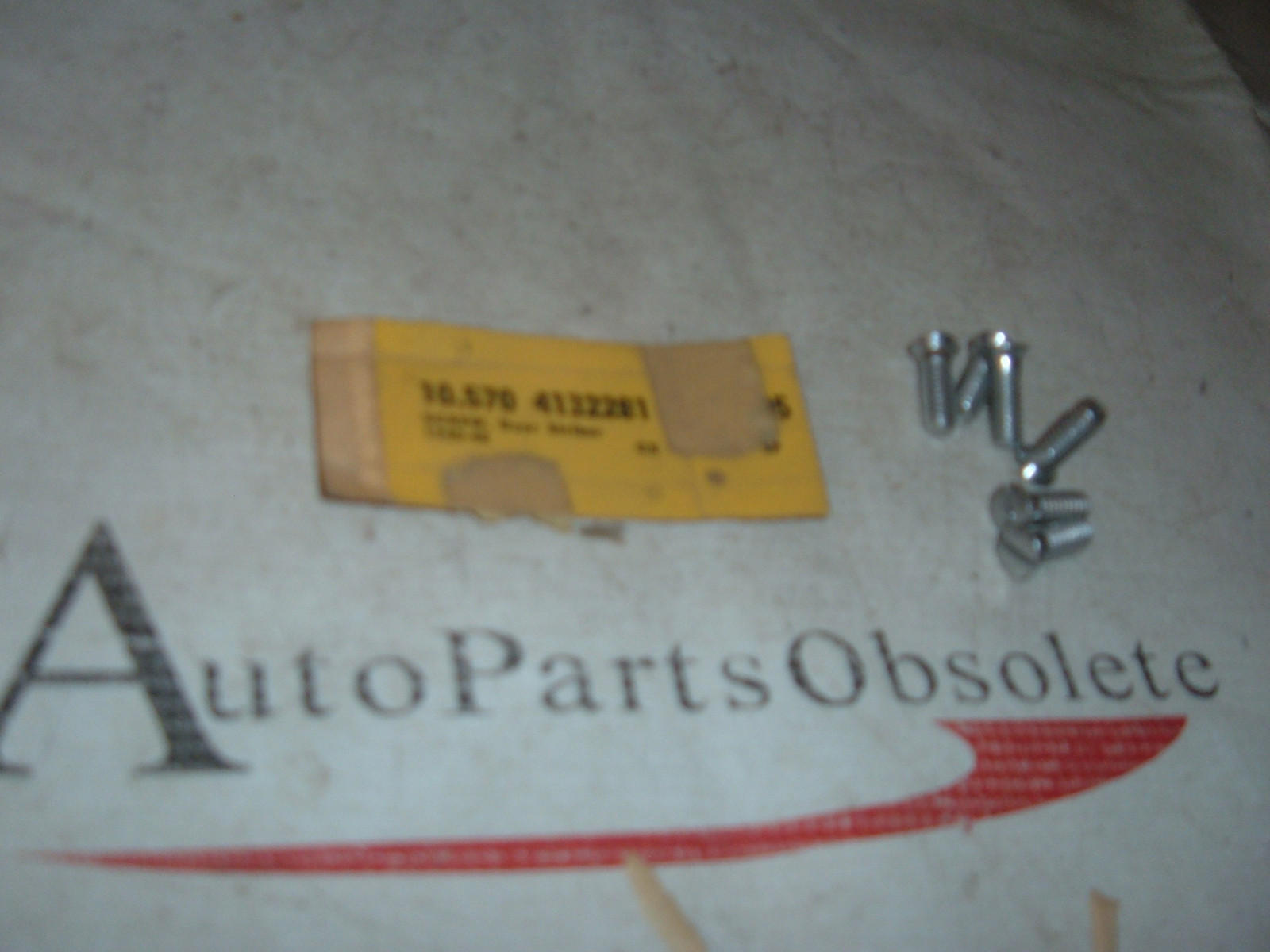 1940 41 42 46 47 48 chevrolet pontiac buick cadillac door strikers screws nos gm # 4132281