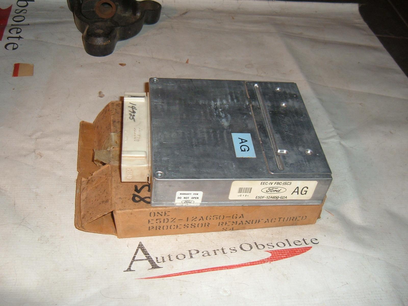 1985 ford truck engine control module E5DZ-12A650-GA (z e5dz12a650ga)