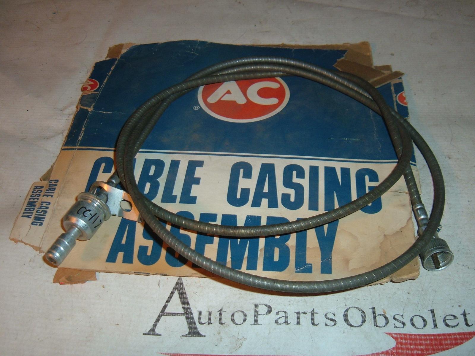1965 67 68 69 70 71 rambler amc speedometer cable & casing ac delco # CC-117