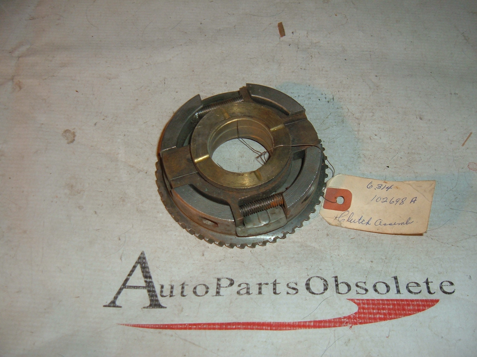 1936 37 38 39 40 nash clutch disc assy nos # 102698 (z 102698)