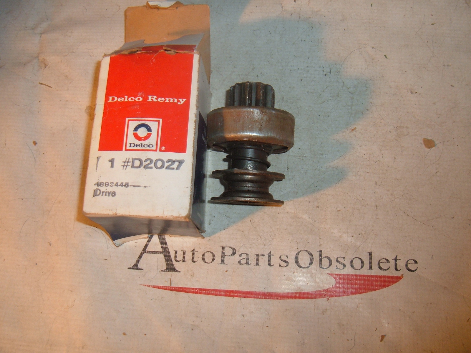 View Product1982 83 84 85 86 8788 Cadillac Pontiac Oldsmobile Chevrolet delco starter drive unit 1893445 (z 1893445)