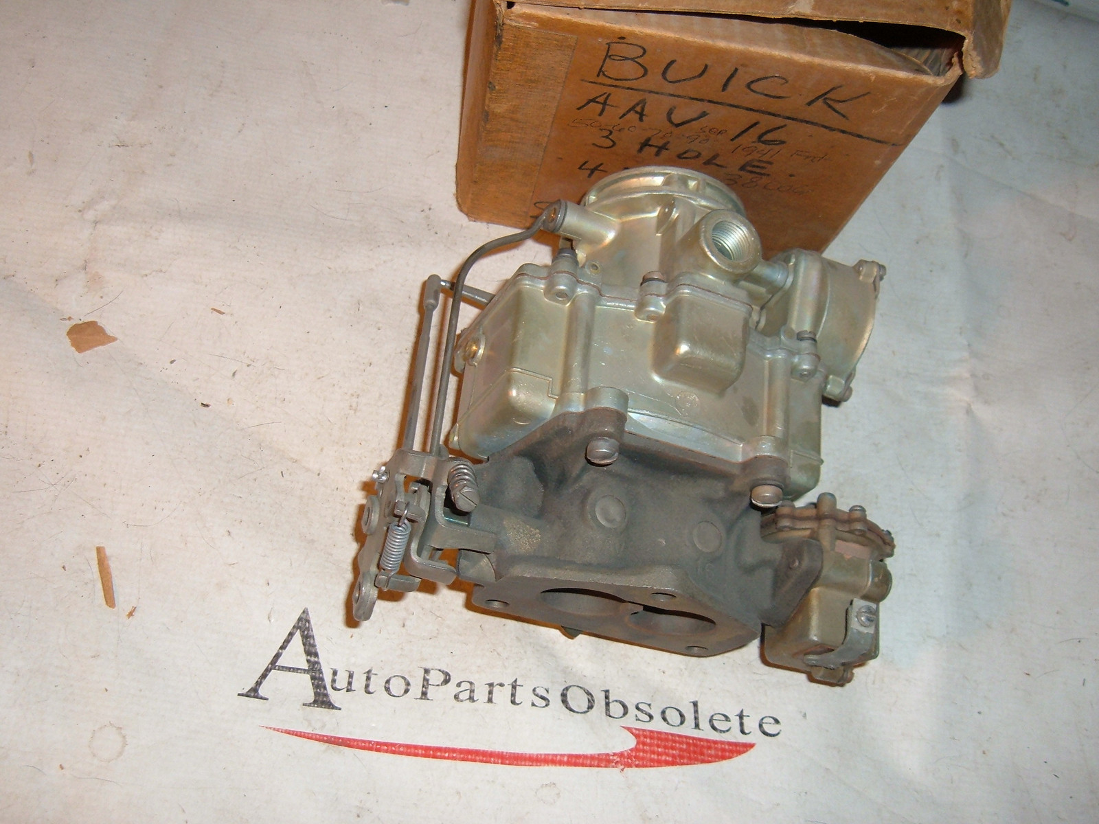 1941 buick stromberg carburetor new # 7-46 380061 (z 746)