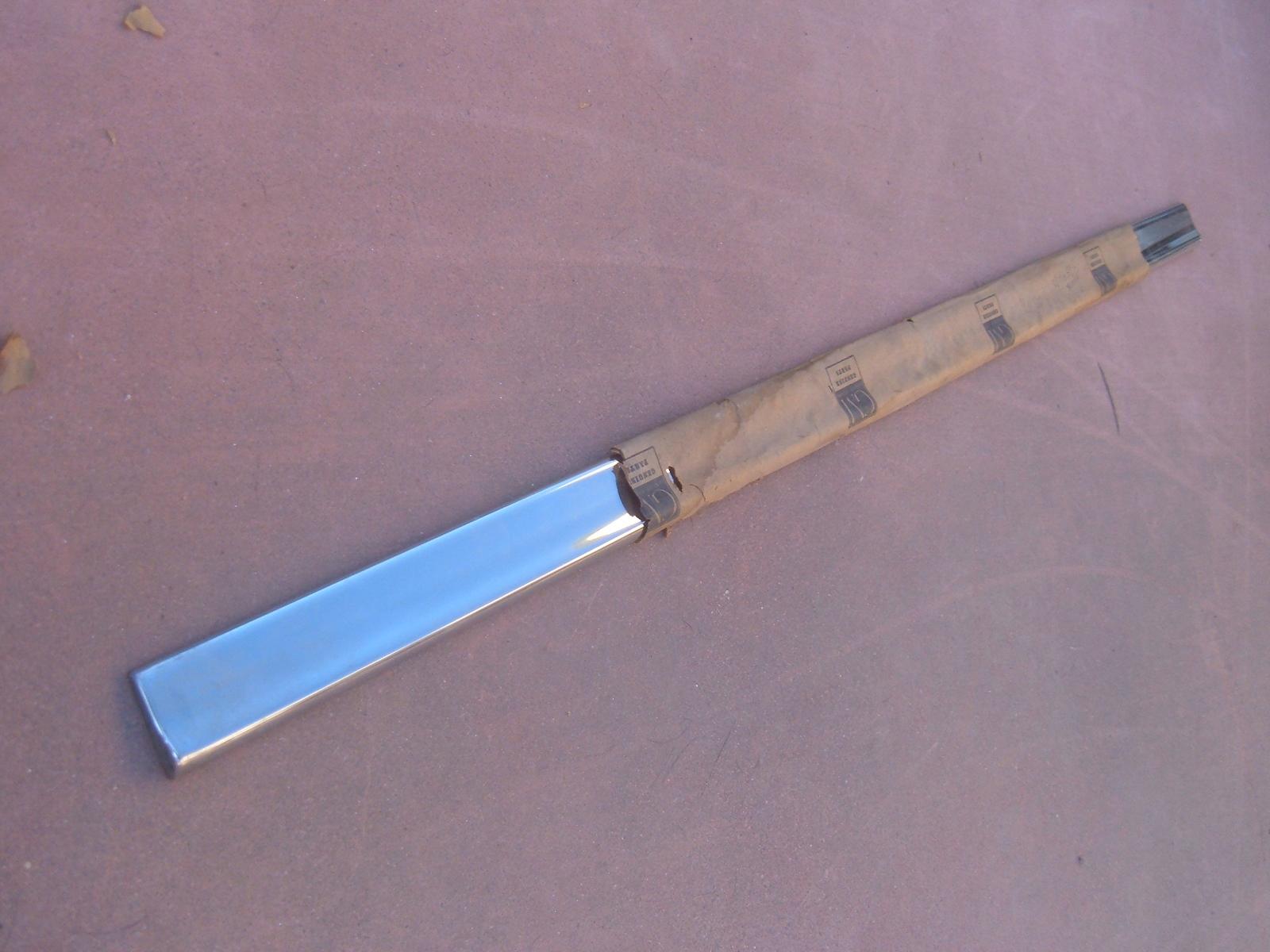1958 cheverolet yeoman brookwood door molding nos gm # 4713580 (z 4713580)