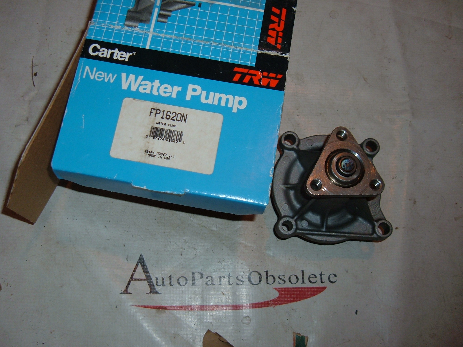 1982 83 84 85 86 CADILLAC BUICK CHEVROLET 1.8,, 2.0 lit water pump # FP1620 (zb fp1620)