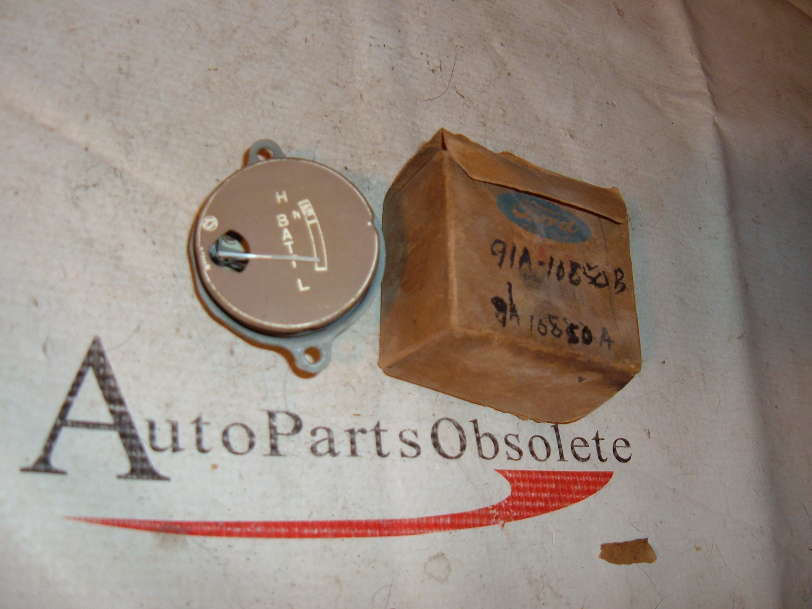 1939 ford ammeter gauge nos ford # 91A-10850-B (z 91a10850b)