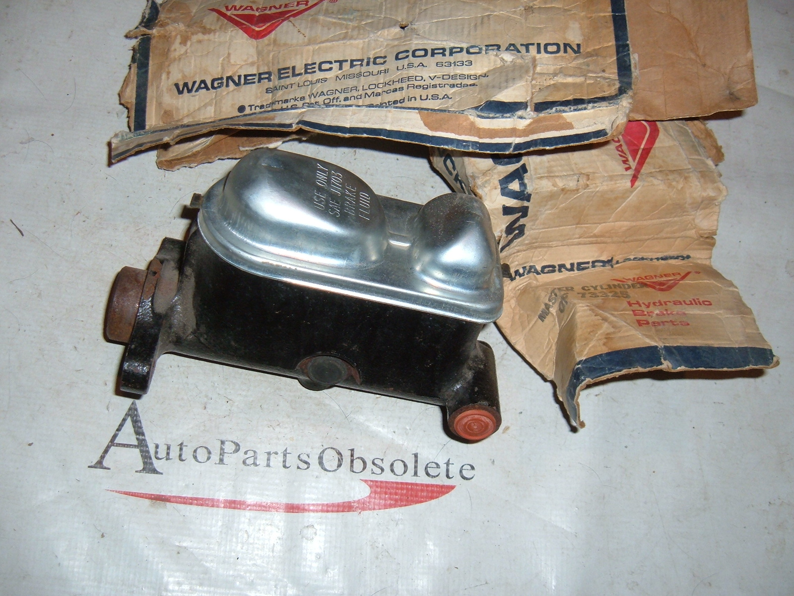 View Product1967 68 69 70 71 ford galaxie mercury master brake cylinder 73325 (z 73325)