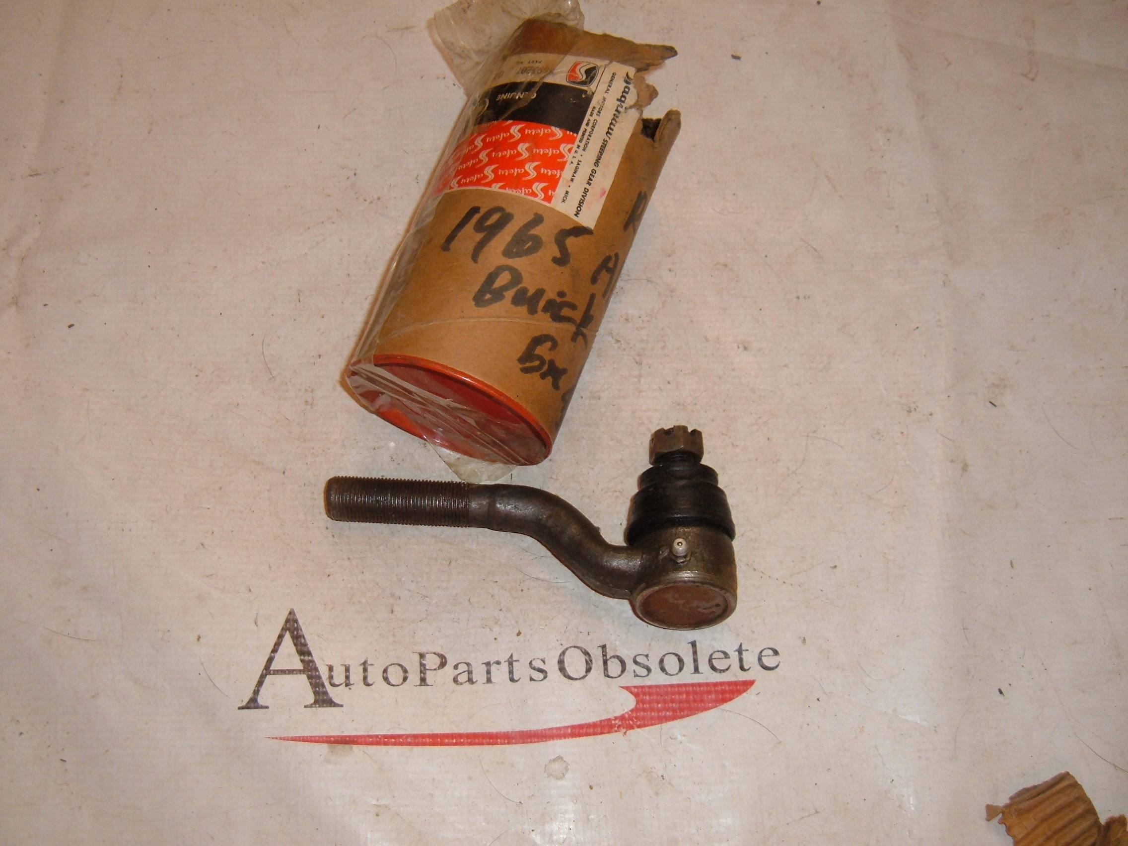 1965 buick tie rod end nos gm # 5693207 (z 5693207)
