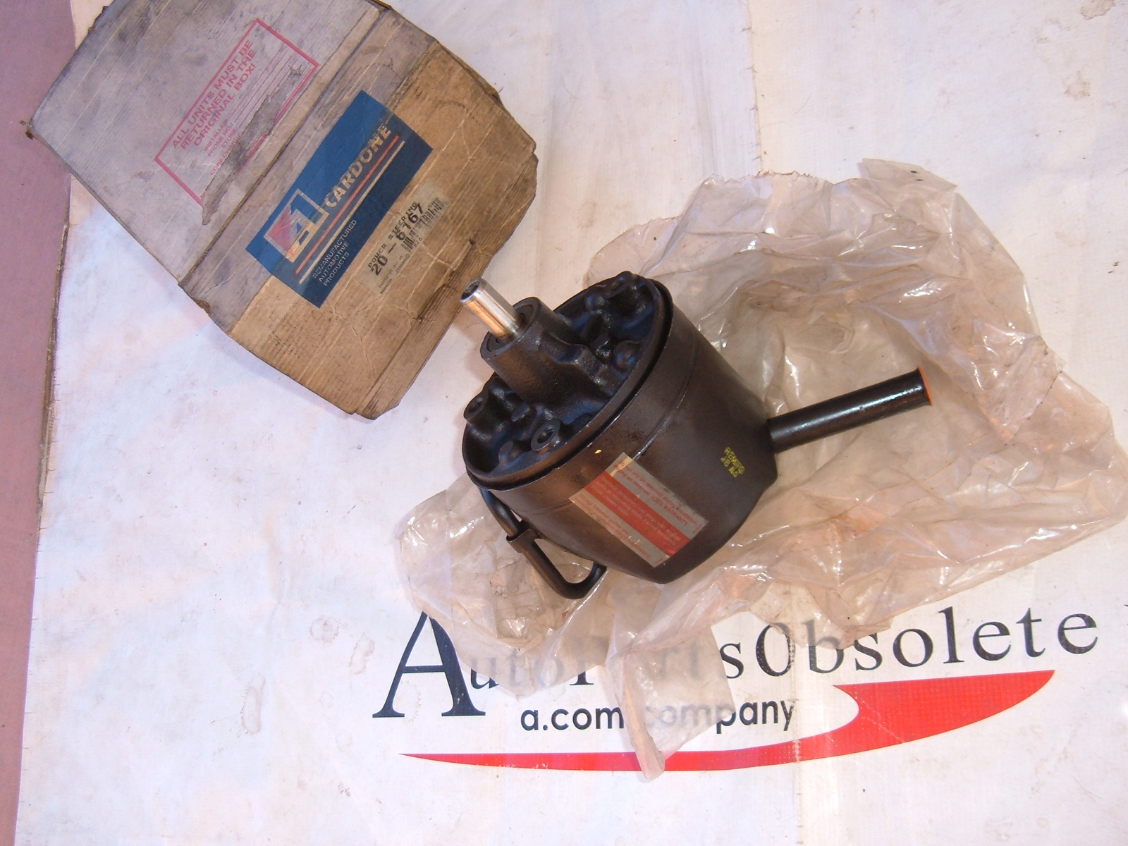 1970 71 72 73 74 75 Mustang cougar maverick comet power steering pump V8 (za 6167)