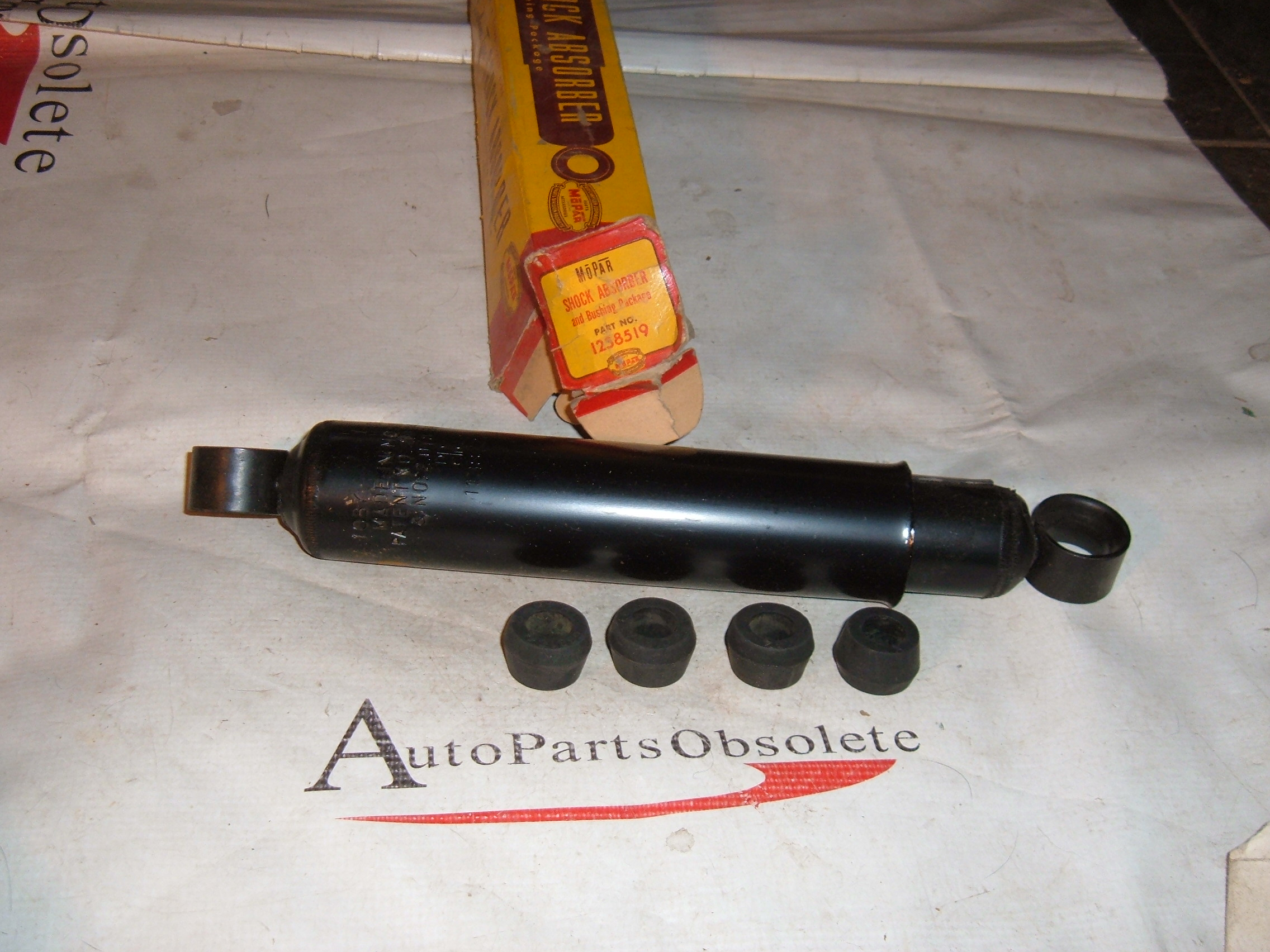 1937 38 plymouth dodge front shock absorber # 1238519 (z 1238519)