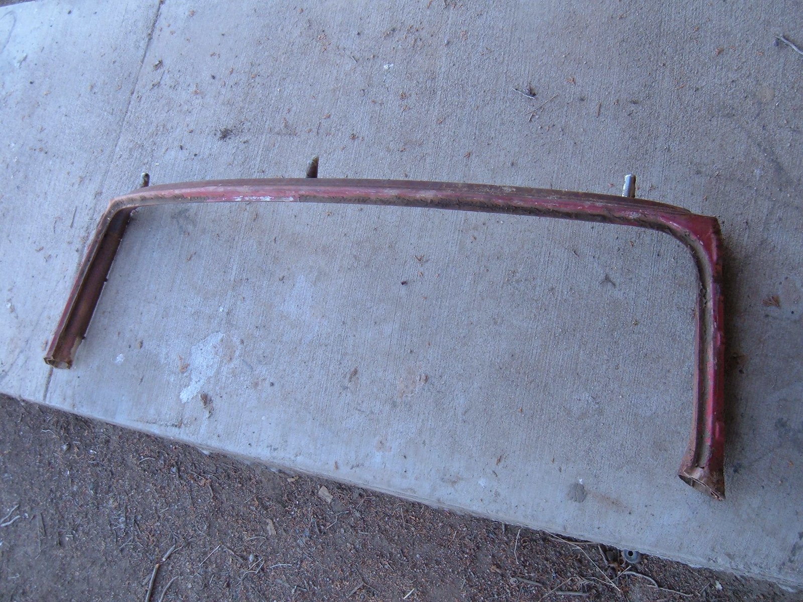 1953 54 chevrolet convertible windshield frame (z 53-4chevwindframe)