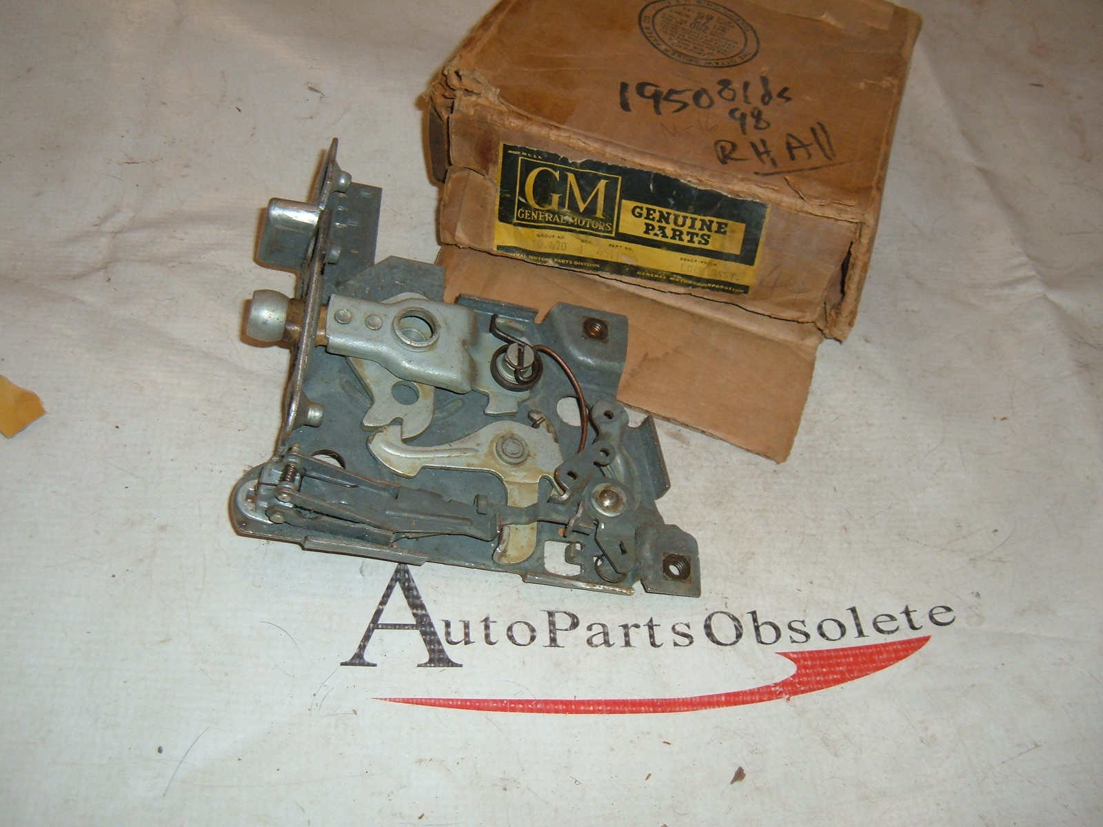 1950 oldsmobile door lock latch nos gm # 4571044 (z 4571044)