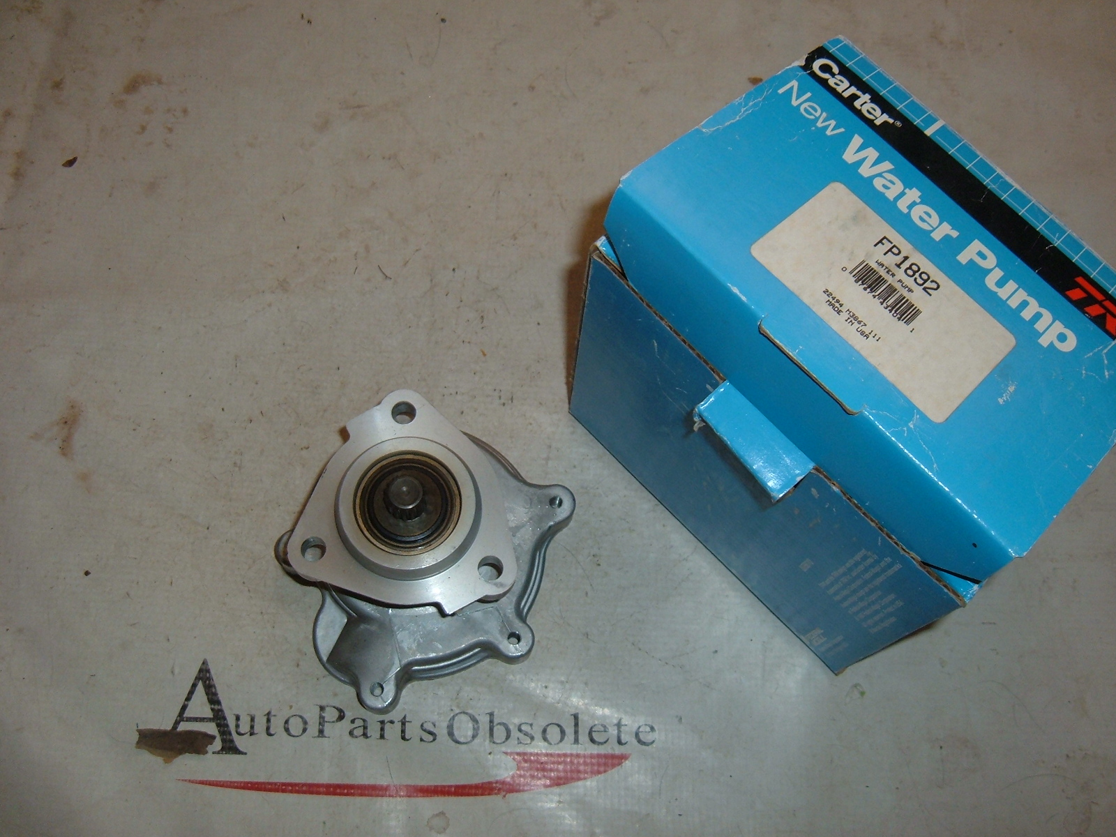 1987 88 89 90 91 92 93 94 chevrolet buick pontiac water pump 4cyl new (zb fp1892)