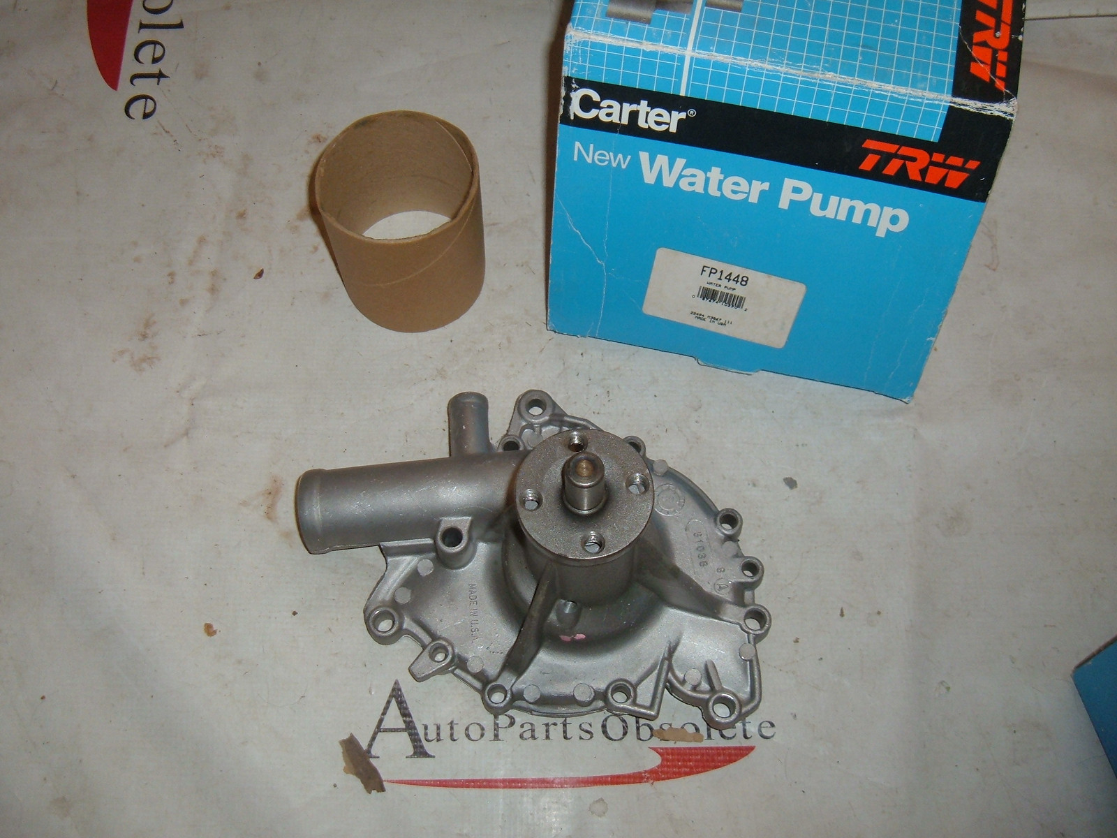 View Product1975 77 79 71 73 85 chevrolet buick pontiac oldsmobile v-6 and 8 cly water pump (zb fp1448)
