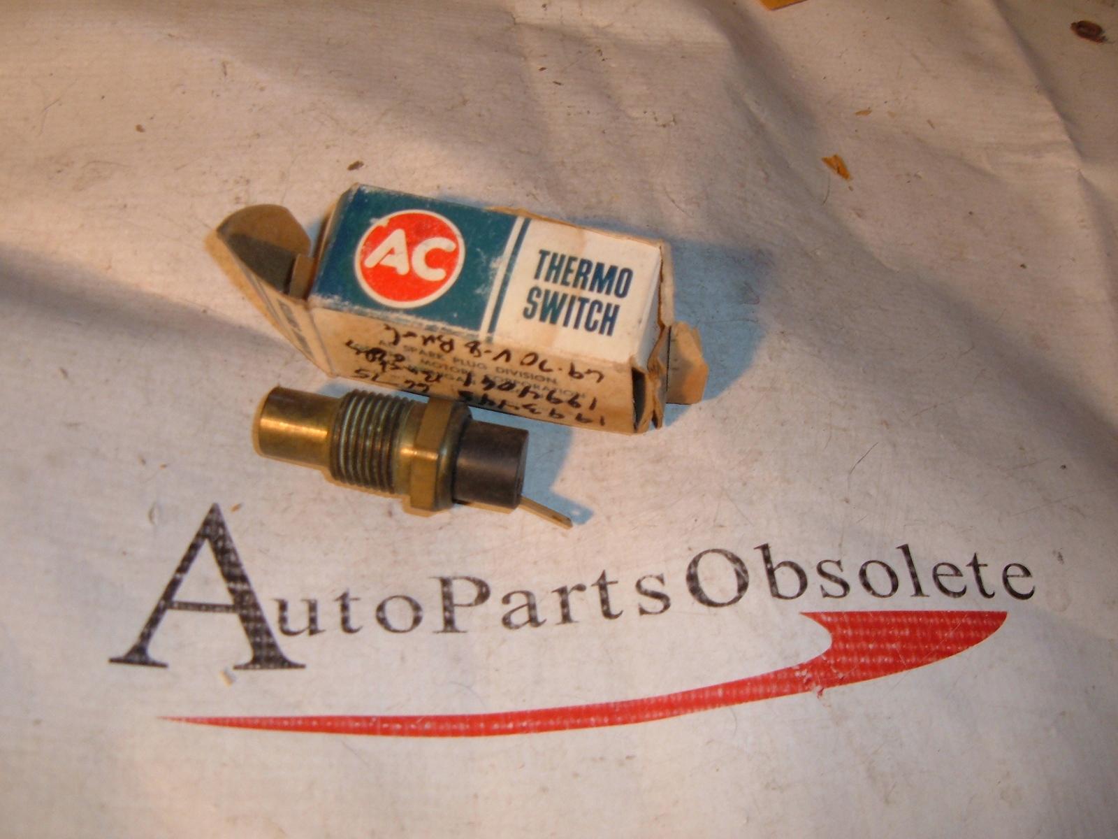 1966 68 70 72 74 buick oldsmobile temperature gauge sender NOS 6489395 (z 6489395)