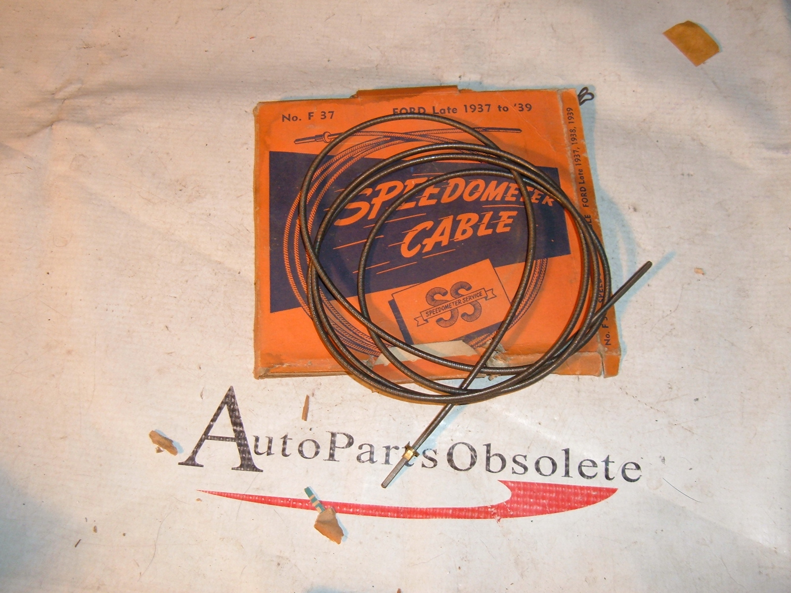 1937 38 39 ford speedometer cable