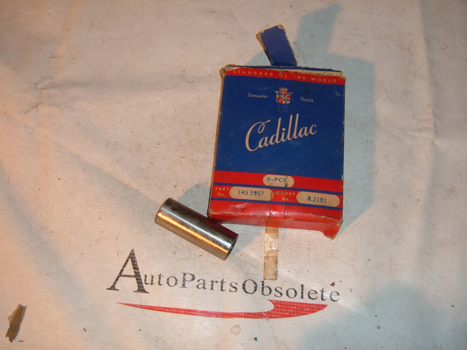 1949 cadillac postion pins .001 oversiize nos # 1455957 (z 1455957)