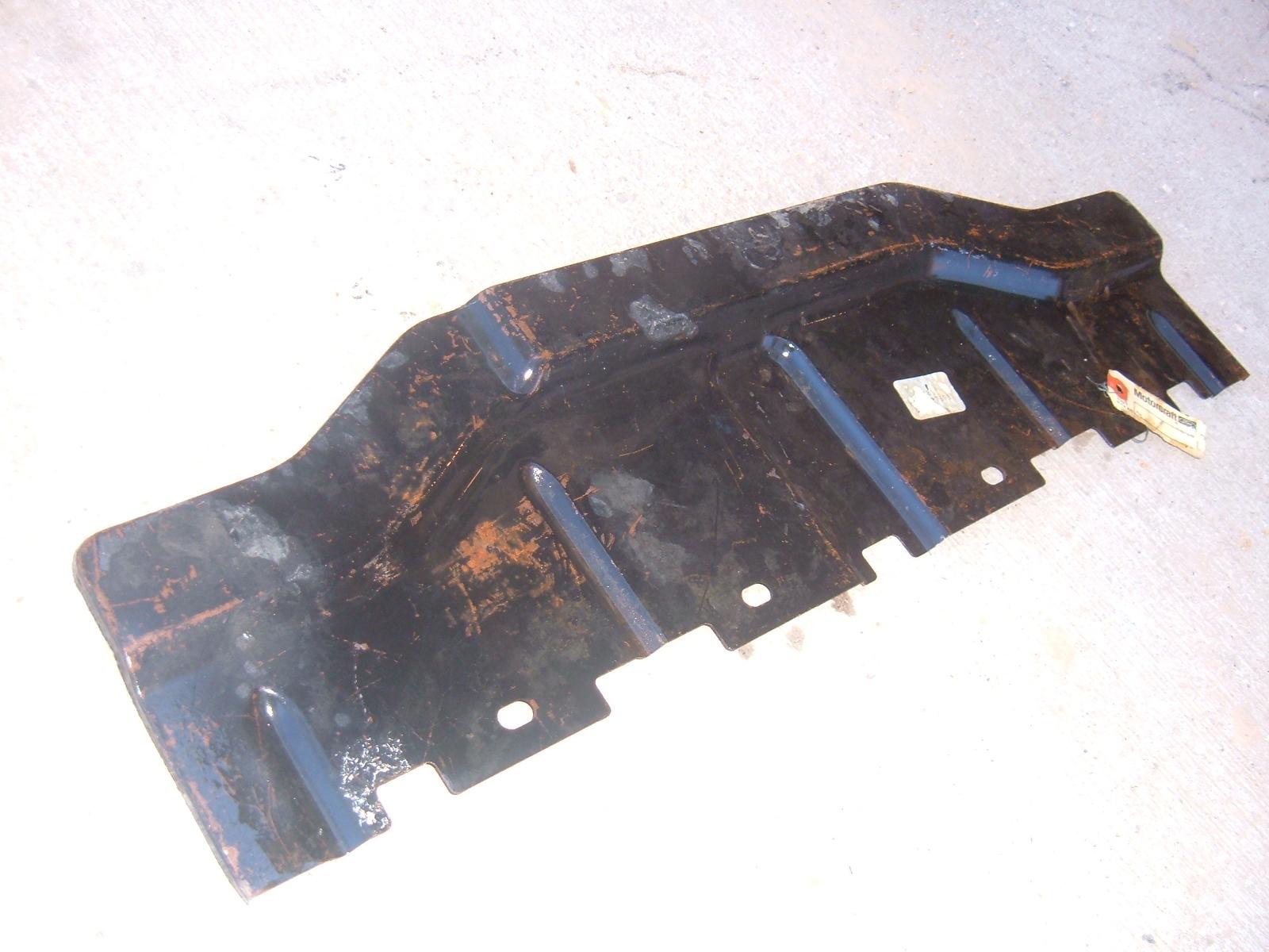 19567 68 69 ford thunderbird frt bumper filler panel nos ford # C8SZ-17B769-B (z c8sz17b769b)