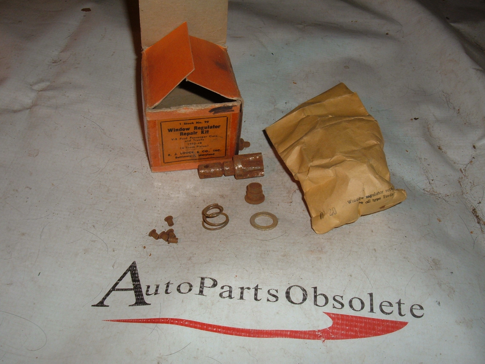 1932 -48 ford car & truck vent window repair kit (za 90)