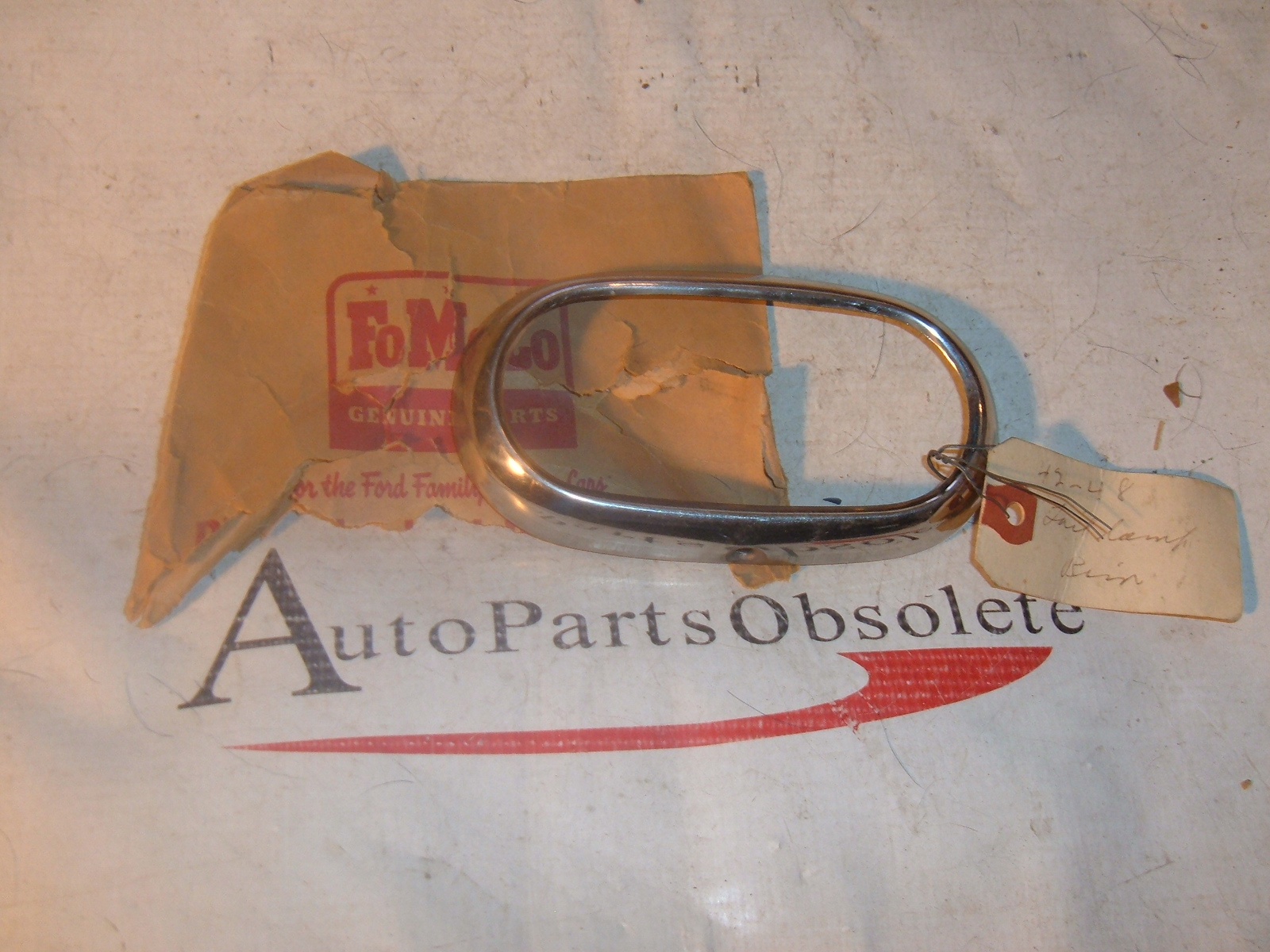 1942 46 47 48 ford tail light bezel nos ford 21A-13448-A (z 21a13448a)