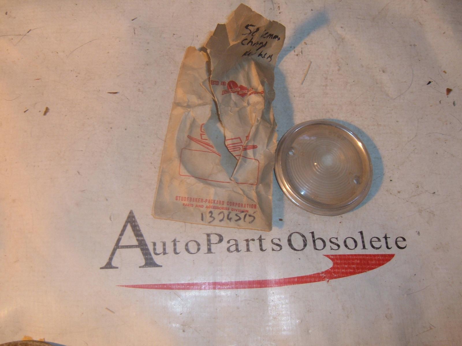 1958 studebaker reverse light lens NOS 1326515 (z 1326515)