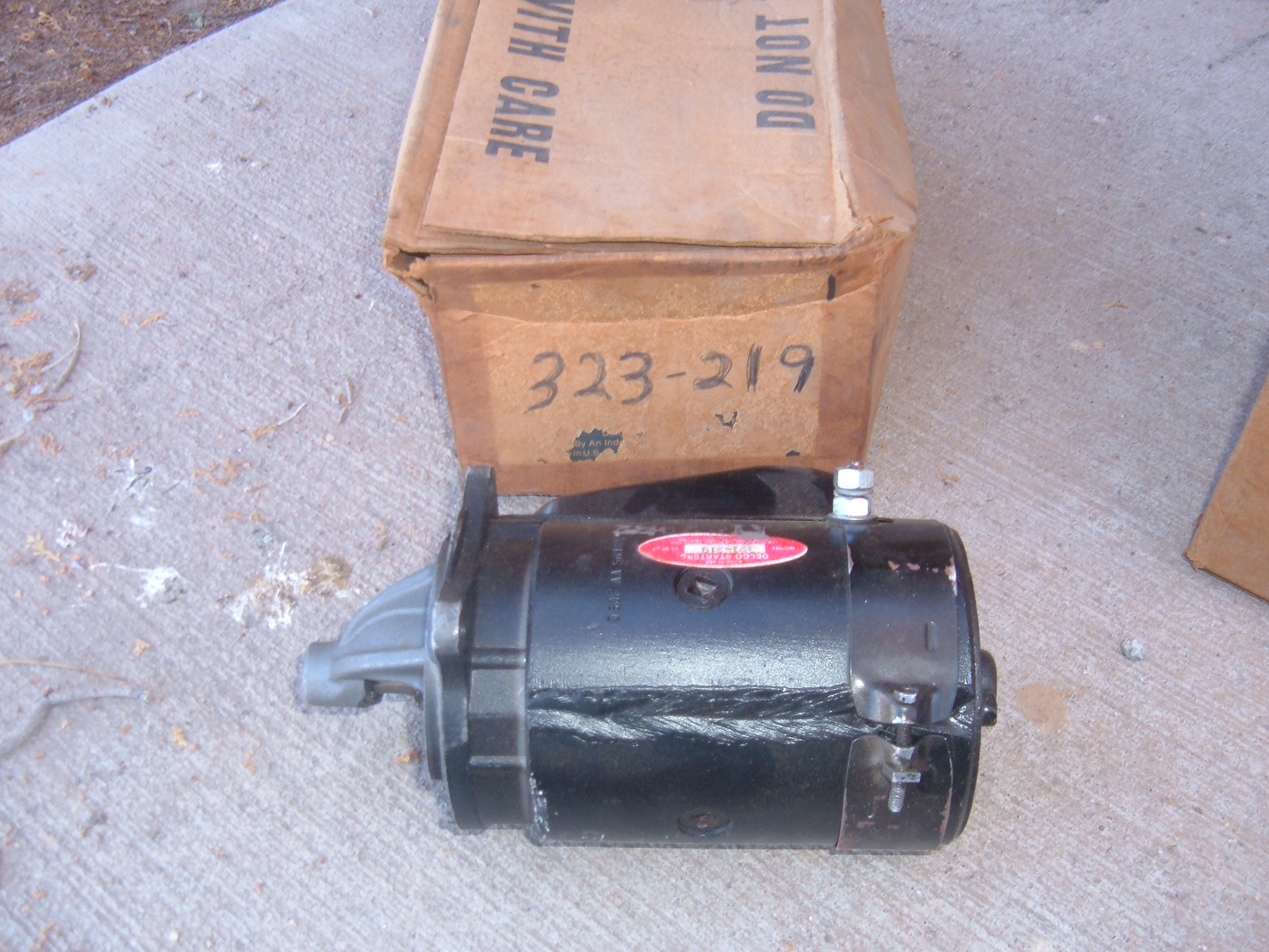 View Product1962 69 ford falcon fairlane starter rebuilt #323-219 (z 323219)