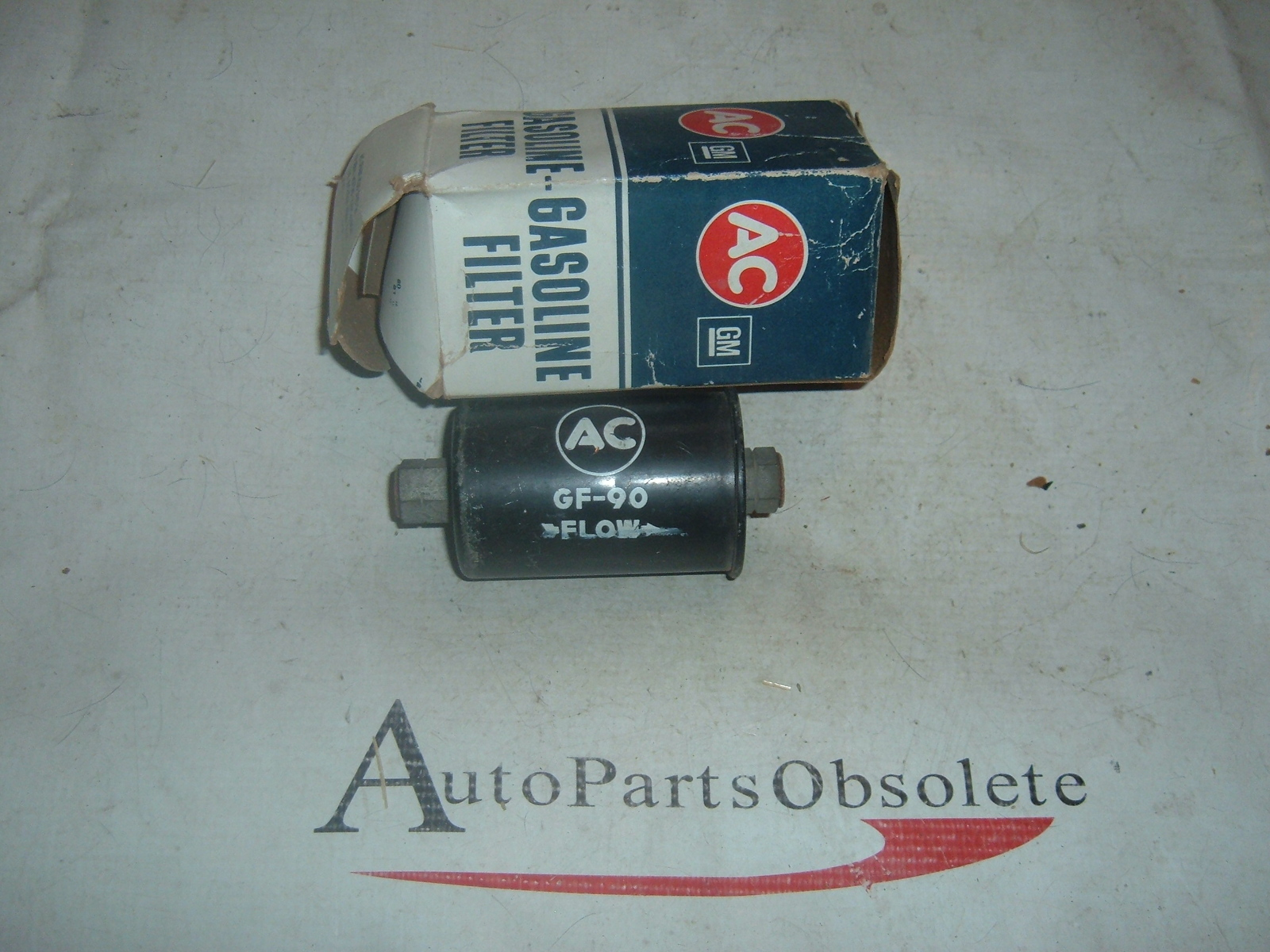 1962 63 64 65 Chevrolet Corvette Black NOS Fuel Filter GF-90 5650703 (z 5650703)