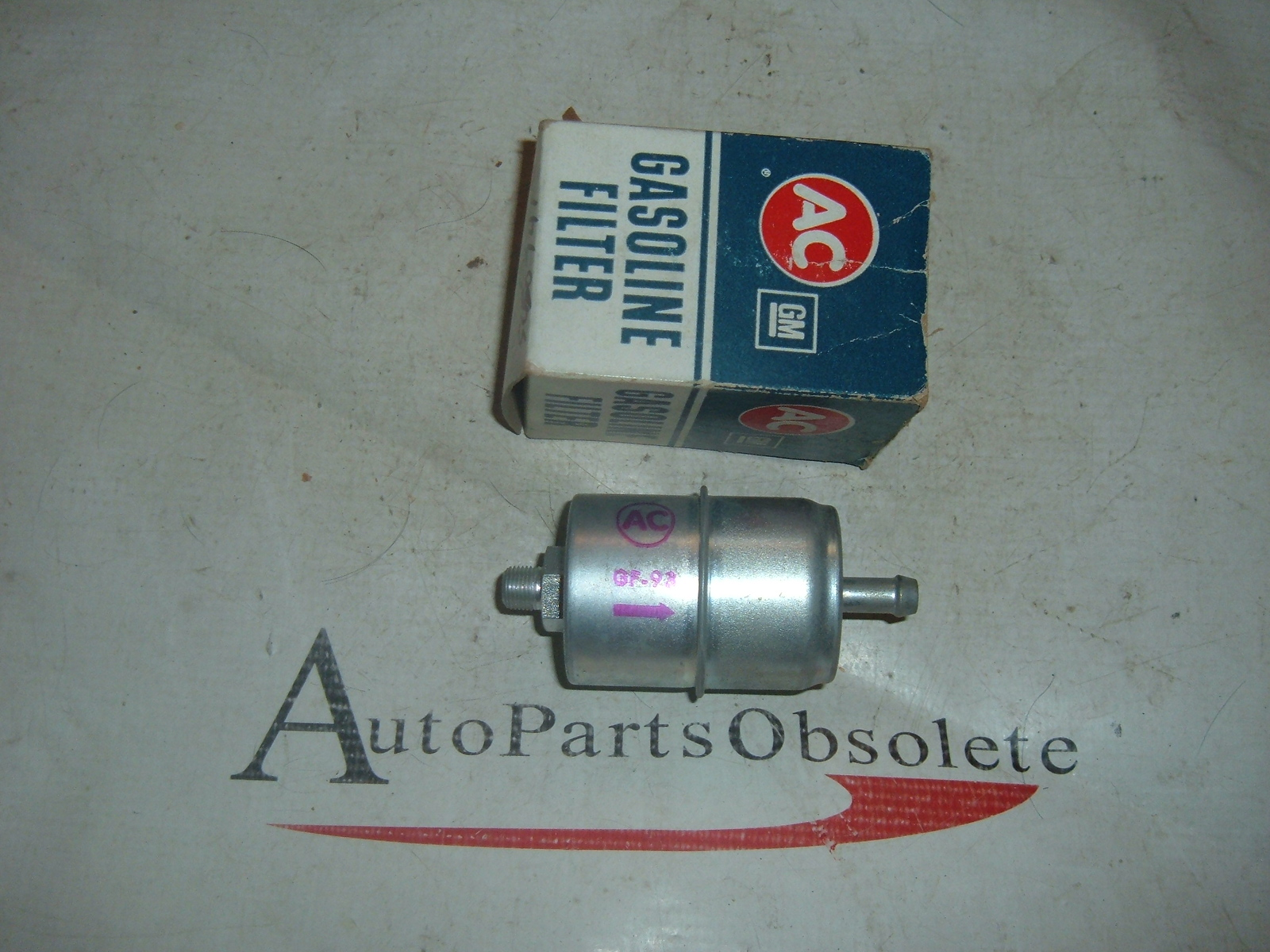 1962 ford falcon comet ac delco fuel filter 5650741 GF-93 (z 5650741)