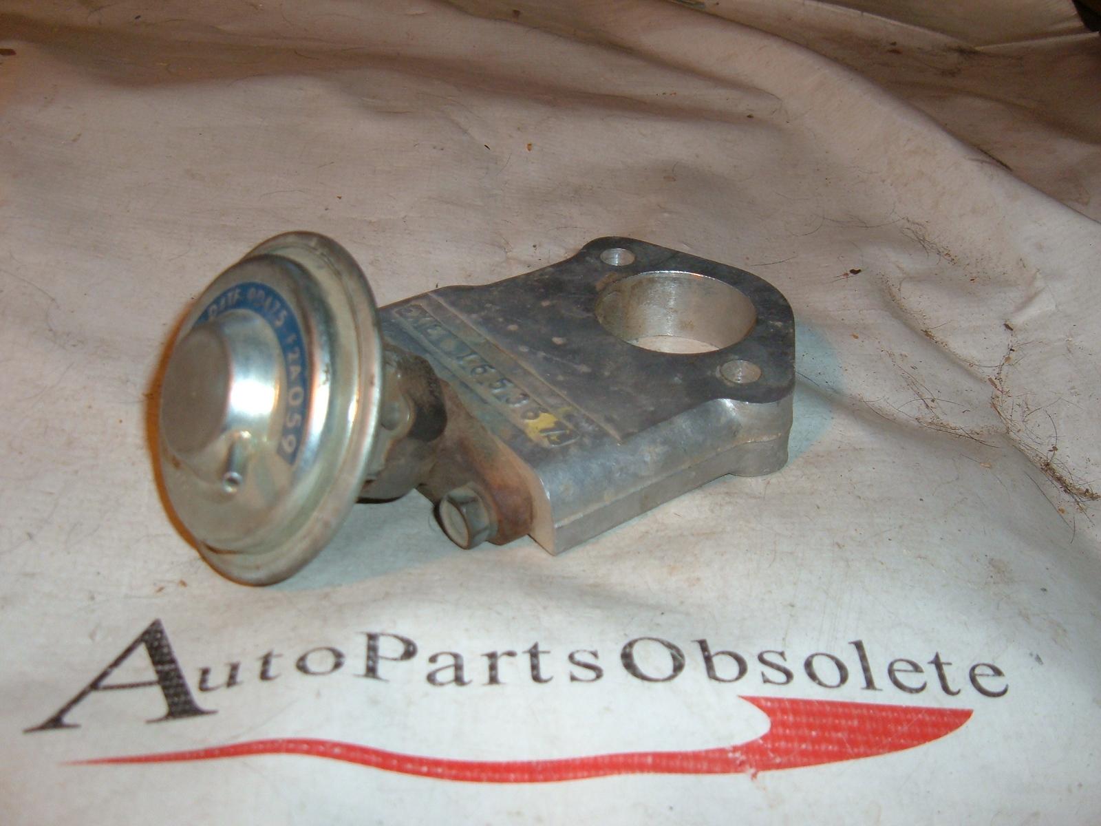 1975 ford EGR diverter valve D4TE-9D475-F2A (z d4te9d475f2a)