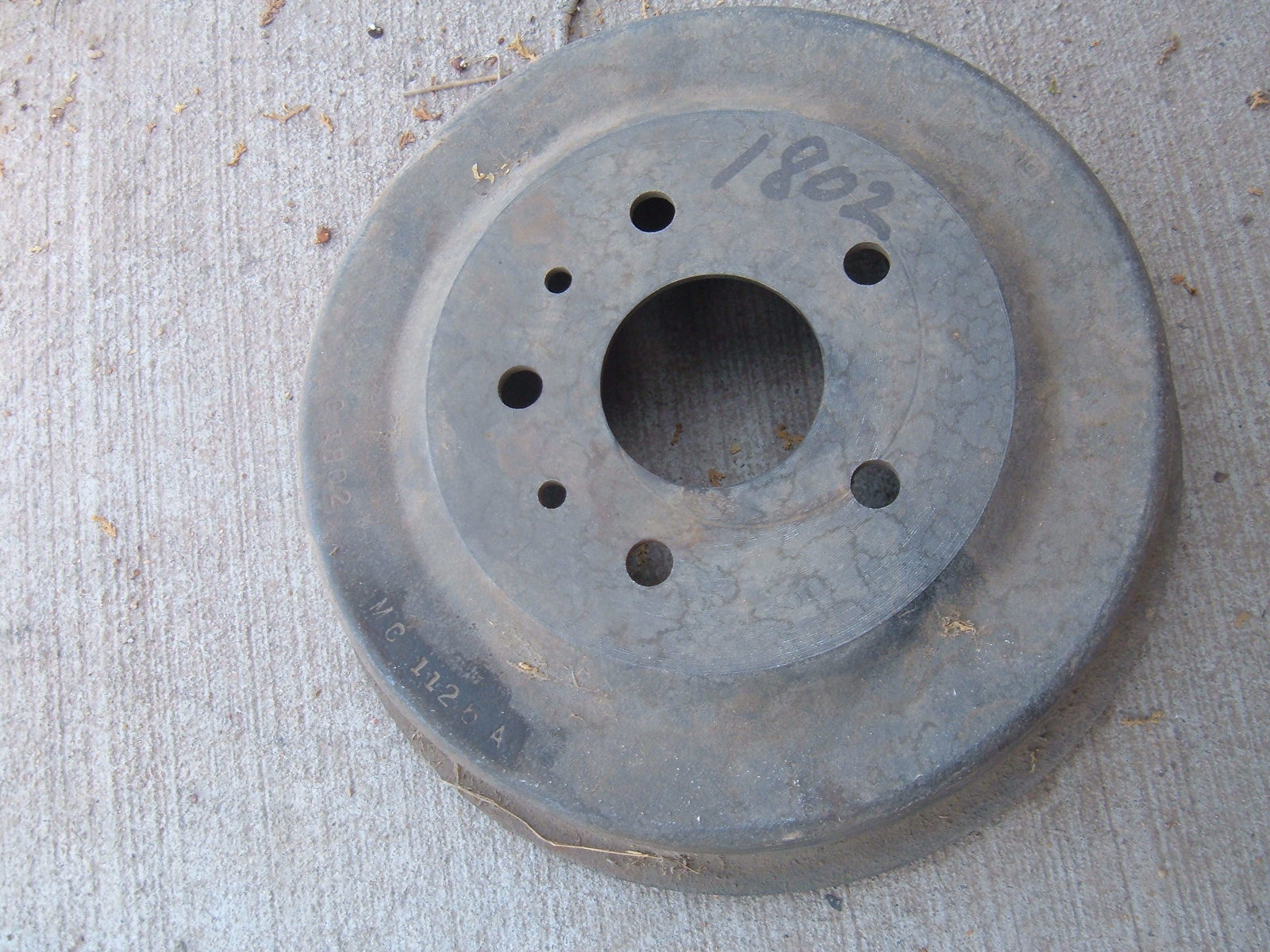 View Product1955 mercury rear brake drum nos MC-1126-A (z mc1126a)