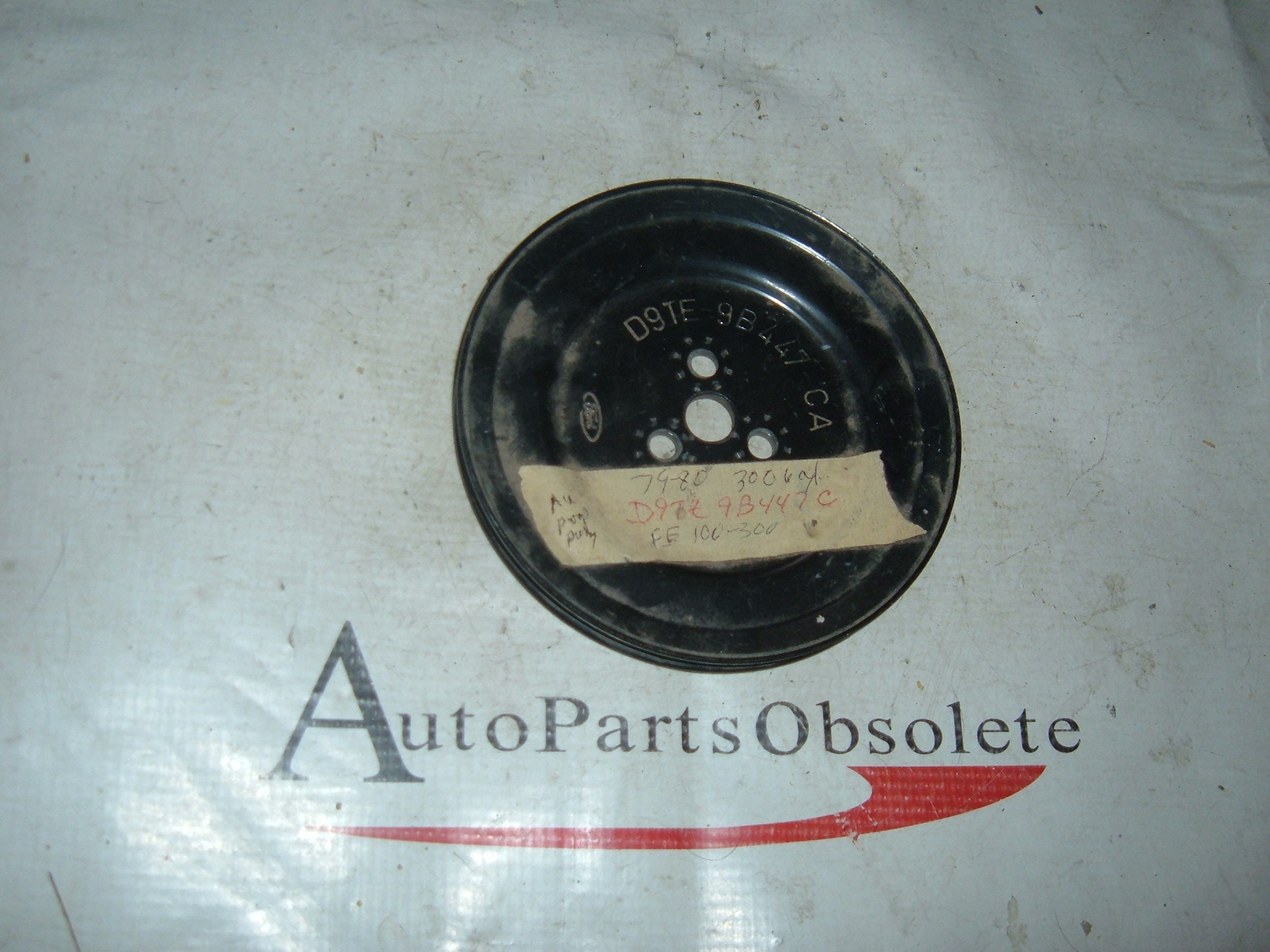 1979 80 ford truck air smog pump pulley nos ford # D9TZ-9B447-C (z d9tz9b447c)
