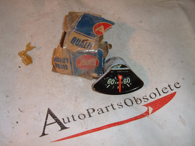 1967 68 69 70 71 chevrolet truck oil pressure gauge nos gm # 6473124 (z 6473124)
