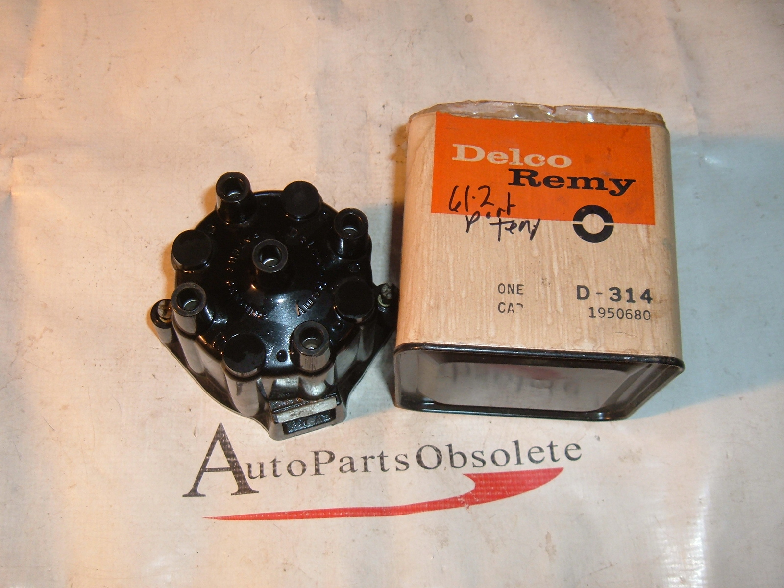 1961 62 63 64 pontiac tempest international distributor cap ac delco # 1950680 (z 1950680)