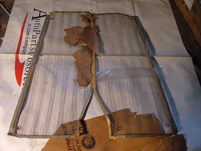 1937 oldsmobile bug screen nos gm # 982036 (z 982036)