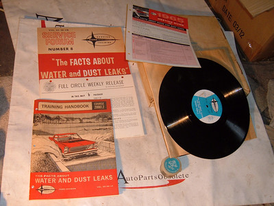 1965 ford dealer training kit water & dust leaks (z 65 forddealerkit)