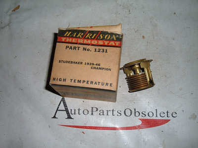 View Product1939 49 41 42 45 46 studebaker Thermostat high temp nos Delco Harrison (z 1231)
