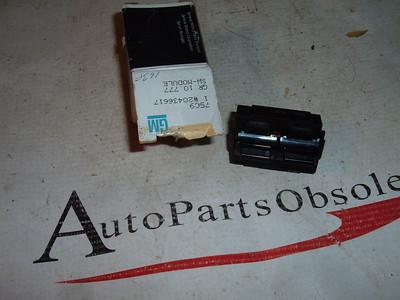 View Product1982 84 86 88 91 chevrolet pontiac buick power window switch nos gm 20436617 (z 20436617)