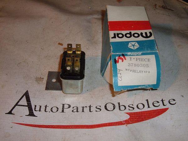 1974 75 76 dodge chrysler plymouth air conditioning relay # 3780305 (z 3780305)