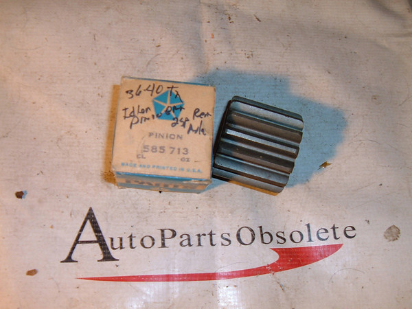 1936 37 38 39 40 dodge truck pinion idler gear # 585713 (z 585713)