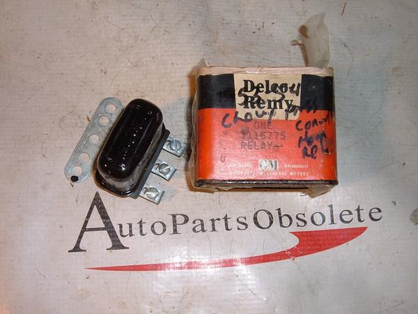 1949 42 46 48 50 52 54 55 chevrolet buick oldsmobile horn relay nos gm # 1116775 (z 1116775)