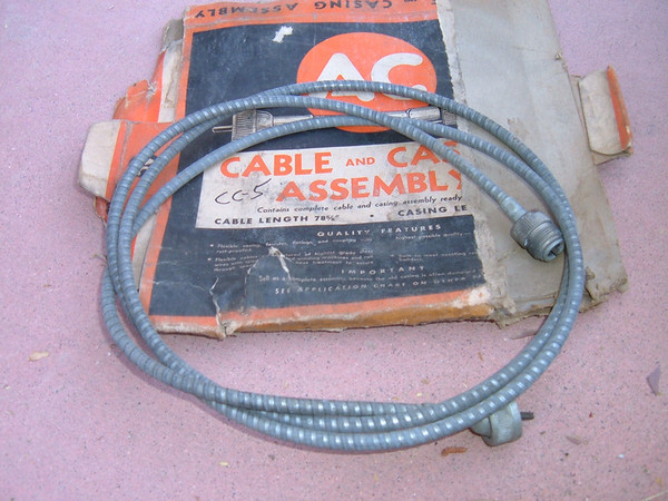 1937 38 39 dodge chrysler plymouth desoto speedometer cable CC-5 ac delco (z cc5)