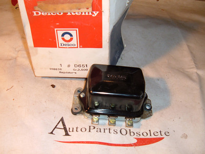 1941 thru 1963 truck and farm ac delco voltage regulator nos # 1118838