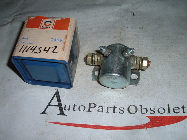 1955 dodge plymouth starter relay 1605449 (z 1114542)