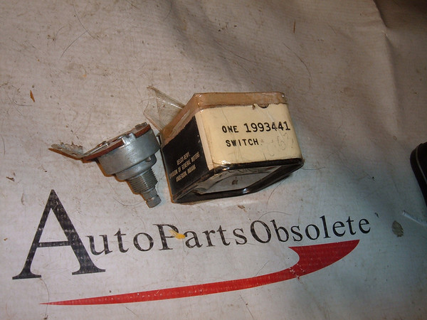 1959 60 61 62 63 64 impala, corvair, nova windshield wiper switch nos gm # 1993441 (z 1993441)