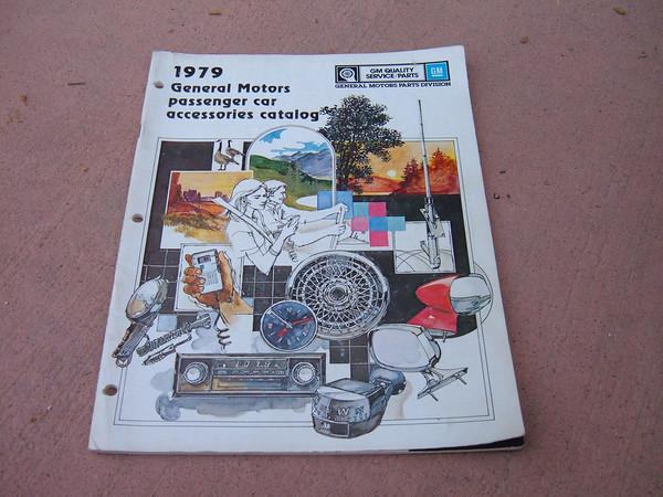 View Product1979 chevrolet dealer accessory catalog nova corvette, monte carlo, camaro ,chevelle, caprice ,impala (z 79