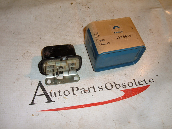 View Product1115816 24 volt heater relay nos delco (z 1115816)