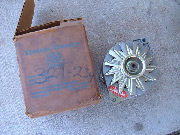 1979 81 83 85 87 chevrolet pontiac oldsmobile ac delco alternator 321-234 10495385 (z 321-324)