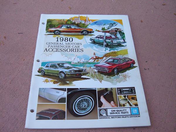View Product1980 chevrolet dealer accessory catalog nova corvette, monte carlo, camaro ,chevelle, caprice ,impala (z 80