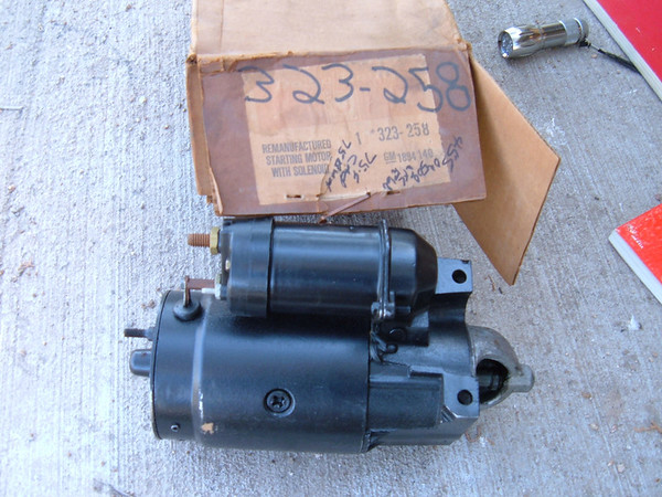 View Product1975 76 cadillac buick starter delco # 323-258 (z 323-258)